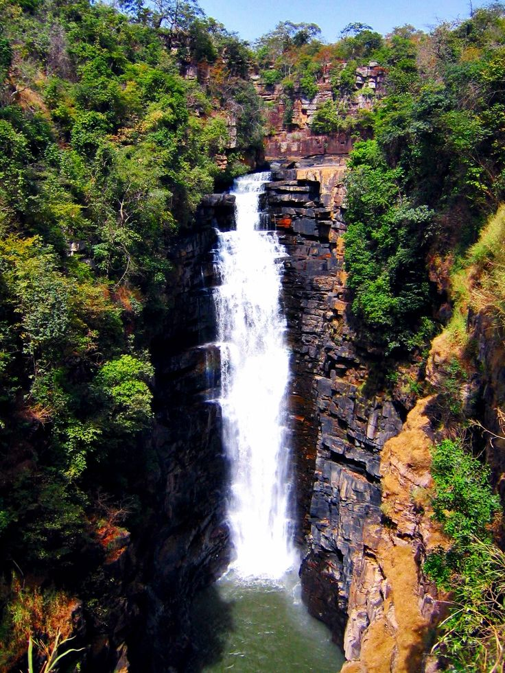 Places To See: Kinkon Falls | Guinea Conakry