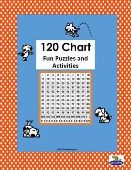 120 Chart - Fun Activities and Puzzles. Includes 120 chart, color 120 chart, two different 120 charts for rounding, Blank 120 chart, Missing numbers 120 chart, mini individual 120 charts, and several different puzzles and activities for building a good foundation.