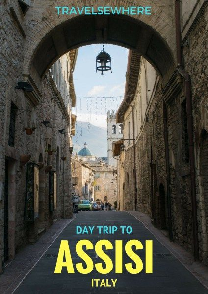 A destination for pilgrims the world round, the town of Assisi is home to St Francis and much more in the countryside of Umbria, Italy via @travelsewhere
