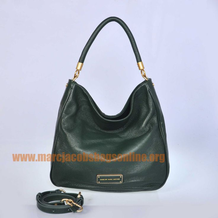Cheap Marc Jacobs Too Hot to Handle Hobo Green $171.50-marcjacobsbagsonline.org