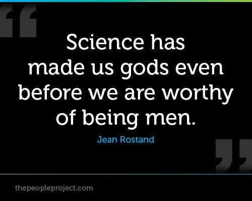 Has science helped d man to progress