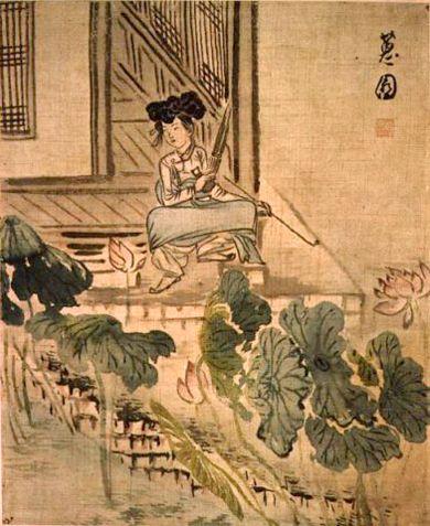 신윤복(申潤福, 1758 ?-1817 이후)은 화원(畵員)을 지낸 신한평(申漢枰, 1726-?)의 아들이며, 김홍도(金弘道, 1745-1816 이후)와 더불어 조선 후기 풍속화의 대가로 잘 알려져 있습니다. 18세기