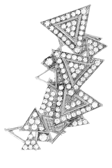 'ear-cuff' con varios triángulos superpuestos, de Asos #tiffany tiffany necklaces uk