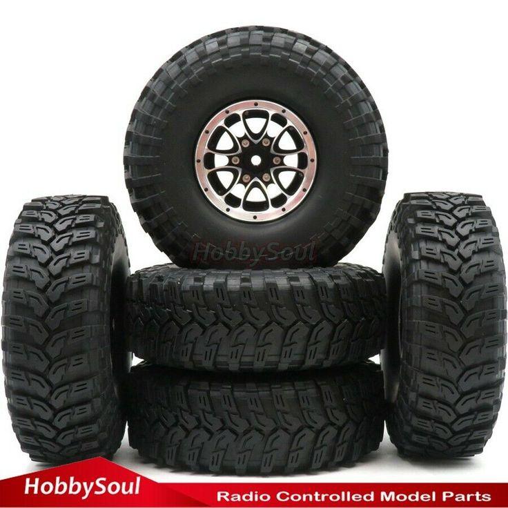 4pcs 1.9/'/' Beadlock Wheel Rim Felge Für 1//10 RC Crawler Axial 90046 SCX10 Tamiya