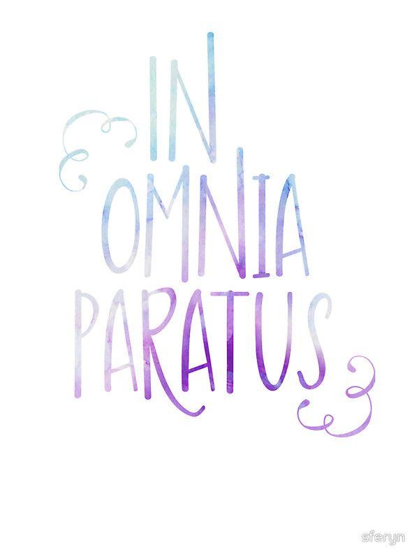 In Omnia Paratus by sferyn