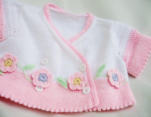 Sweet little knit sweater!
