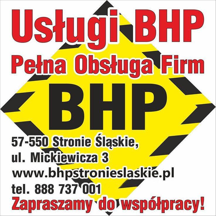 Usługi BHP - Pełna Obsługa firm