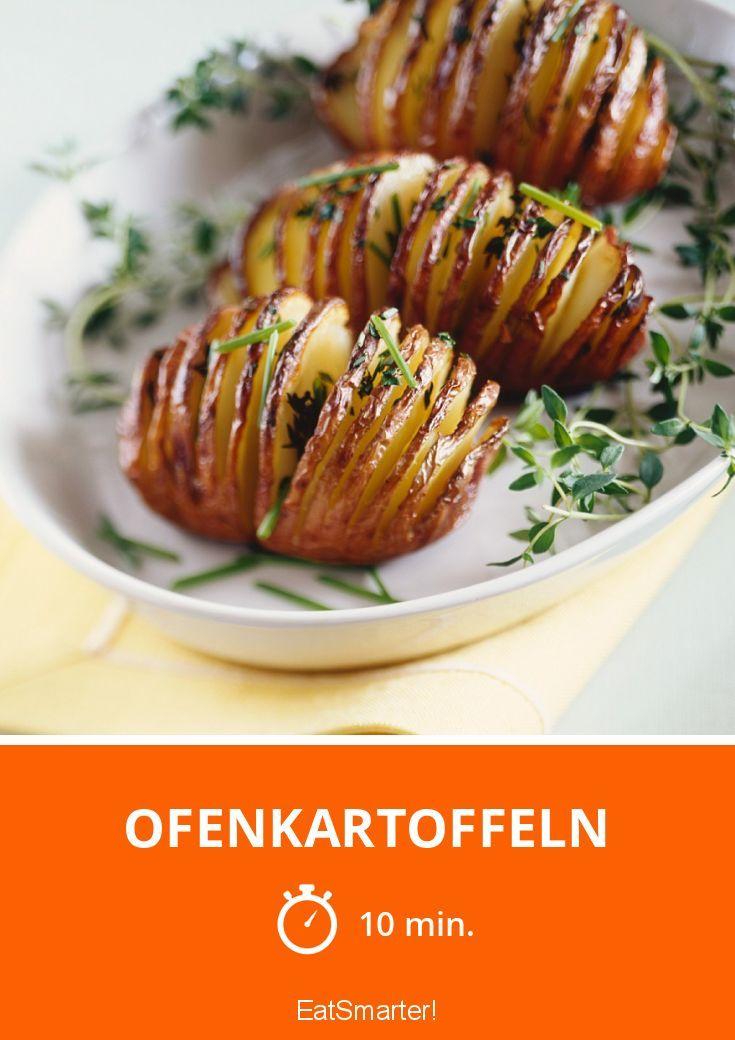 Fächerkartoffeln aus dem Ofen http://eatsmarter.de/rezepte/ofenkartoffeln-13