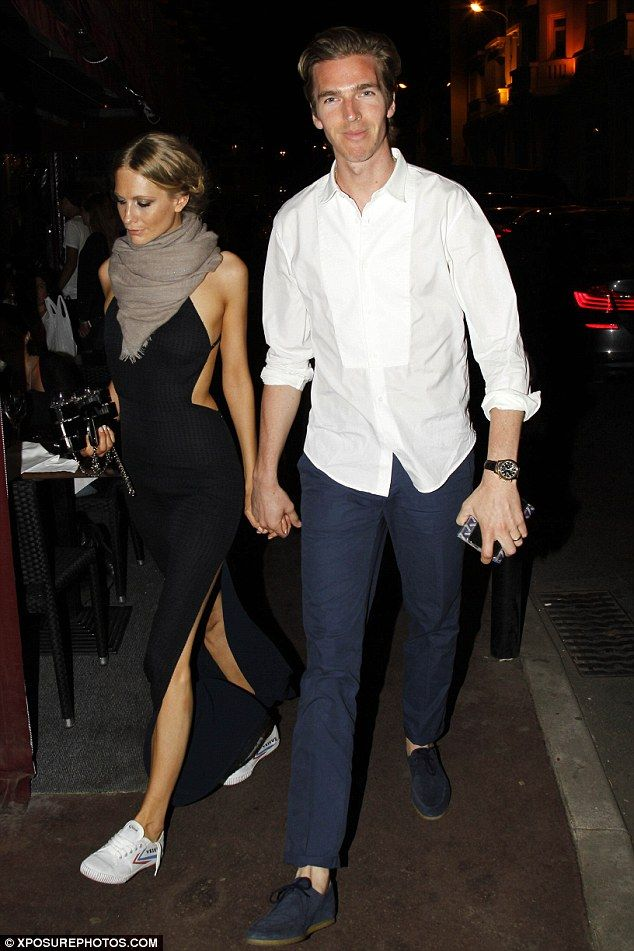 Man and wife: The couple wed just over one year ago atSt Paul's Church in Knightsbridge, London