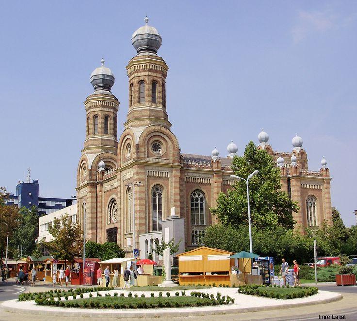 Synagogue of Szombathely (pr. som-batt-hey). #Hungary Gizella Kulchar Bajusz (Bajus) was born in Szombathely (Vas)