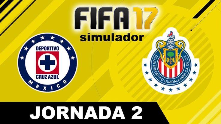 Cruz Azul vs Chivas 2017 RESUMEN Jornada 2 Apertura 2017 Liga MX Simula...