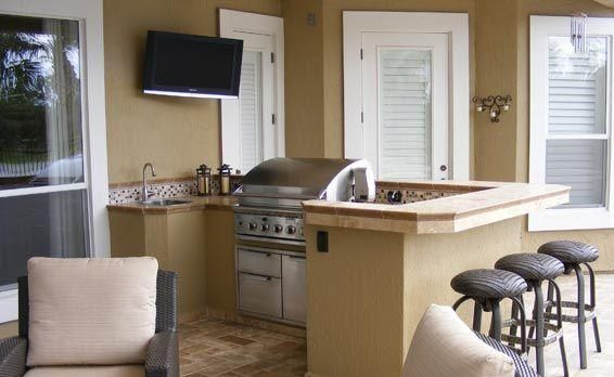 Kitchen outdoor kitchen on a budget best cheap outdoor for Best budget kitchens