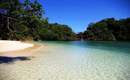 "sempu island ""the hidden paradise"", malang, east java, indonesia"