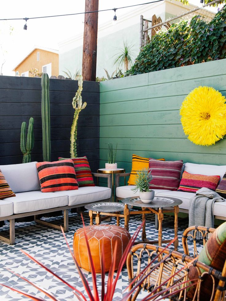 One Room Challenge Fall • Patio Reveal — OLD BRAND NEW