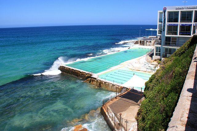Bondi Icebergs Pool Sydney Australia Pinterest