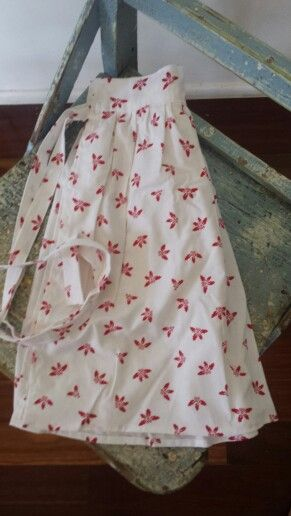 Handmade Vintage Style Christmas Apron for sale