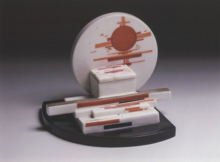 While Suetin authored numerous remarkable works, perhaps his most striking pieces came in the form of Suprematist plateware from 1922-1928 commemorating the Bolshevik revolution.  Included in this …