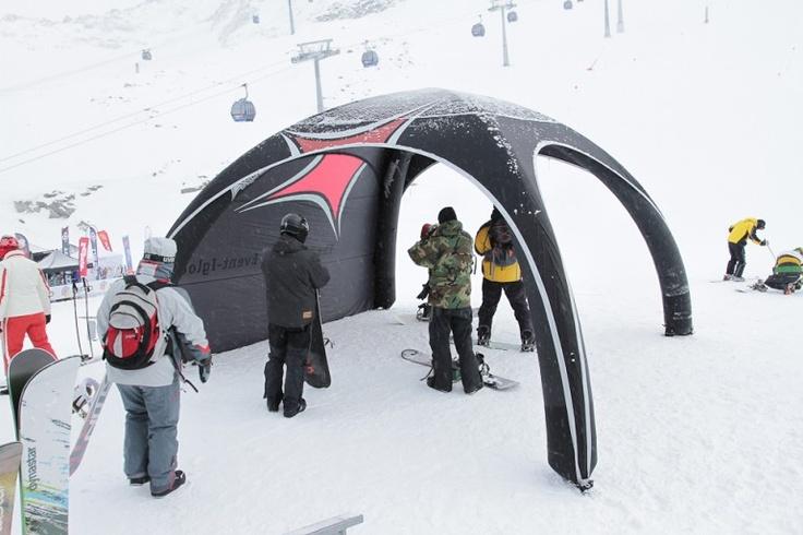 Austria Snow Demo   X-GLOO 4x4