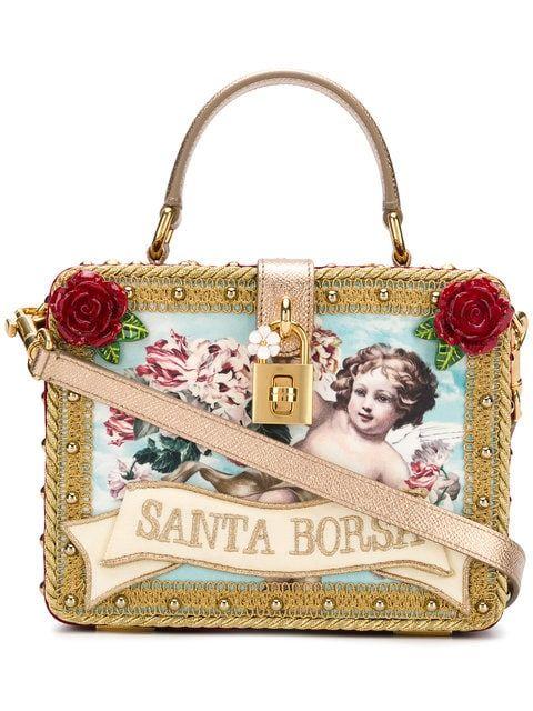 701450f97ae6 Dolce & Gabbana Santa Borsa Box Tote - Farfetch | Bags in 2019 ...