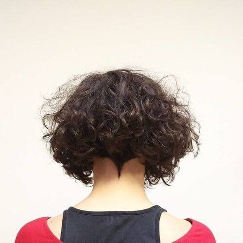 #19. Curly Vintage Style This bob style is so on-trend right now. Especially for your curly hair.   #20. Short Formal Style The light brown for this undercut hairstyle is perfect for your formal look.   #21. Modern Curly Crop Have you seen that your natural black curly hair look modern? Just try this short …