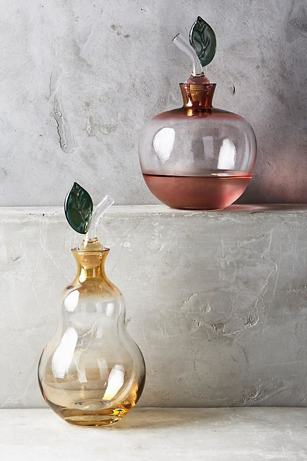 Elegant fruit-shaped decanters to enjoy expensive wine like a classy-ass adult. | 32 Gifts That Are Prettier Than You