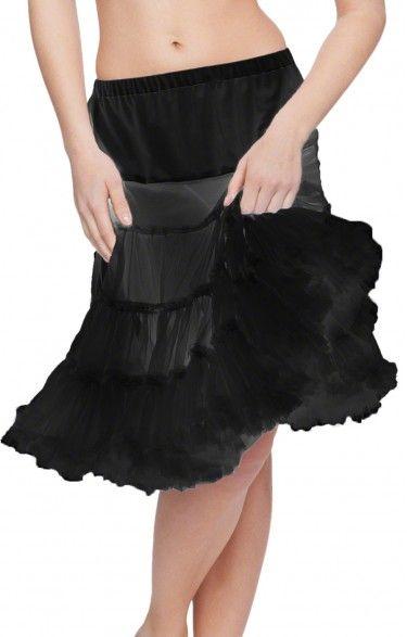 German traditional petticoat U90 black