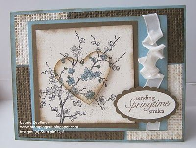 Laurie's Stampin' Spot: Easter Blossoms