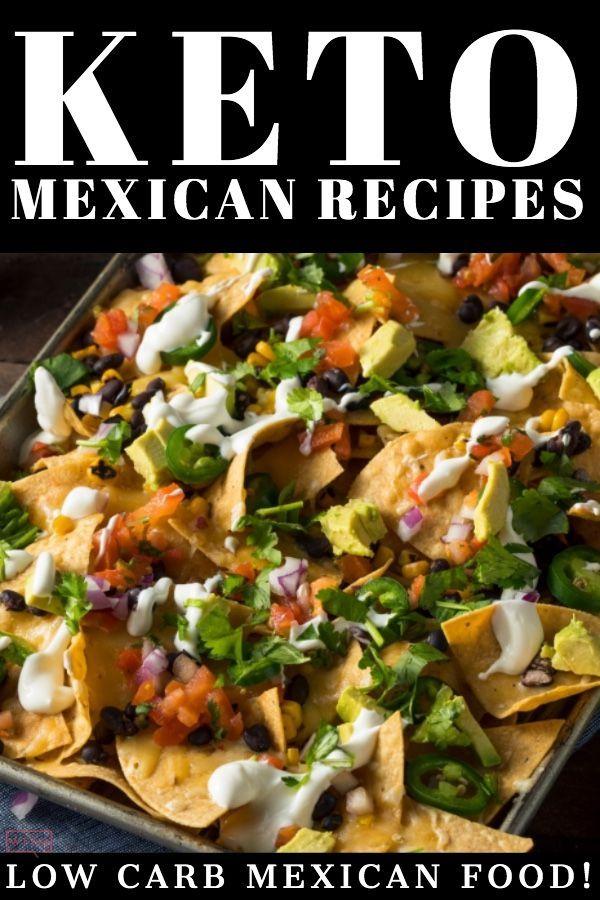 ¿Estás buscando una receta de cena keto fácil? Echa un vistazo a estos fabulosos keto mexicanos …