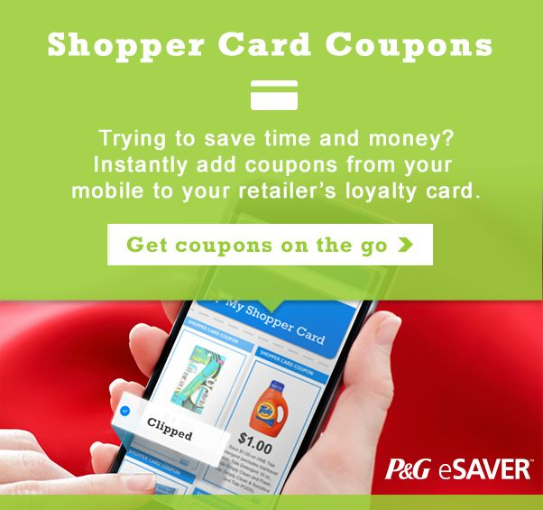 Shopper Card Coupons