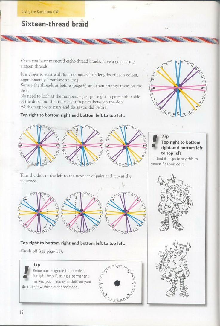 kumihimo pattern - Kumihimo tutorial #kumihimo #kumihimopattern #kumihimotutorial