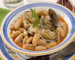 Fabada Asturiana con Pulpo