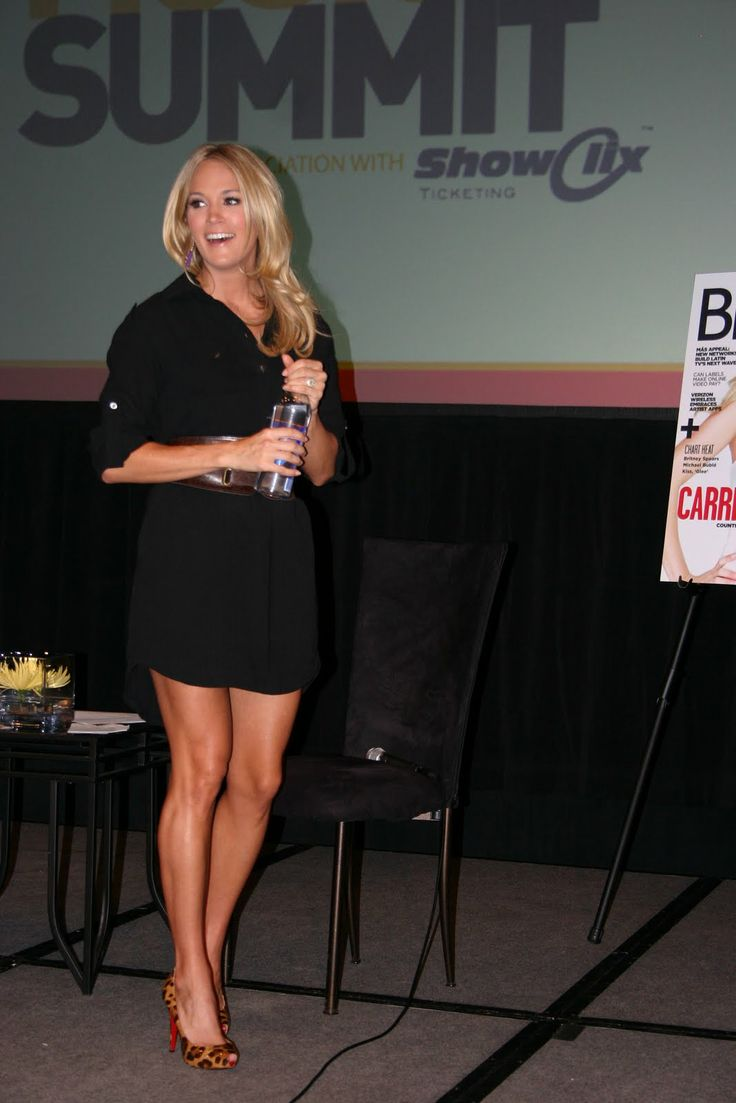 Carrie Underwood. Want her kind of legs!
