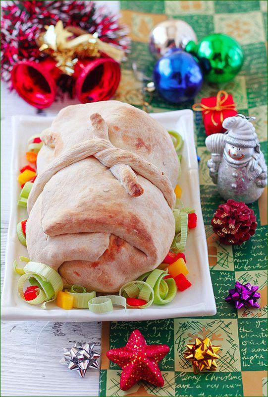 Курица запеченная в тесте