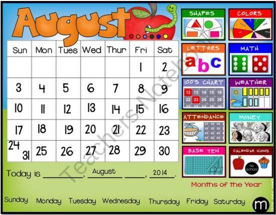 Kindergarten Calendar Common Core : Best images about kindergarten morning meeting