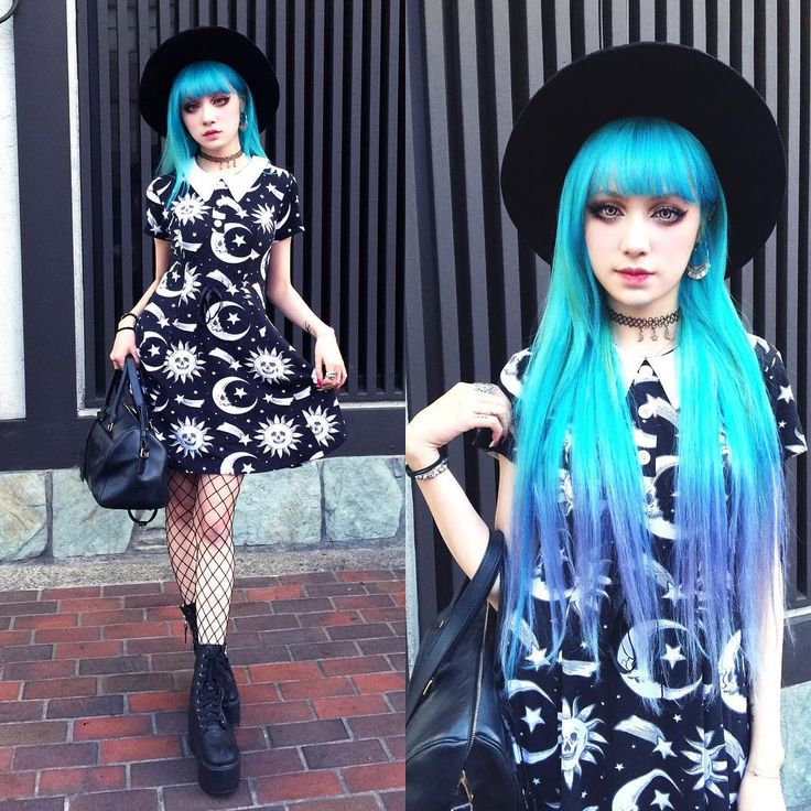 @killstarco dress and new mermaid hair shine bright like a ❄️ come back home in L.A. and the fall is coming soon even that I'm not ready yet.