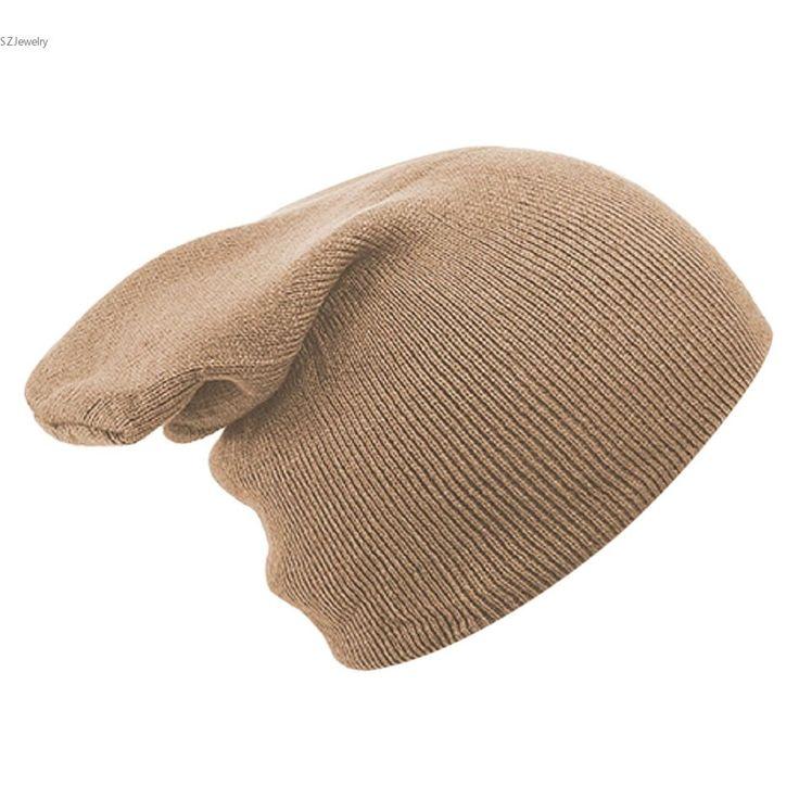 >> Click to Buy << Unisex Autumn Men Women Knitted Winter Cap Beanies for Men Solid Color Hip-hop Slouch Skullies Bonnet Unisex Cap Hat Gorro #Affiliate