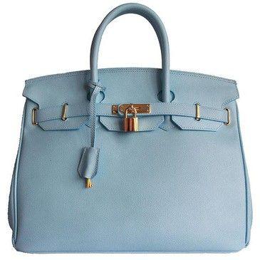 Hermes Birkin ...luxuary-leather-goods: Baby Blue, Handbags Fashion, Blue Birkin, Birkin Bags, Hermes Birkin, Hermè Birkin, Beautiful Handbags, Powder Blue, Hermes Handbags