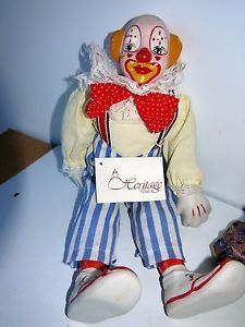 Image result for clown doll sitting