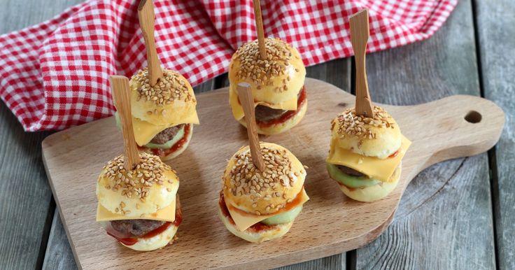 Recette - Mini burgers en pas à pas