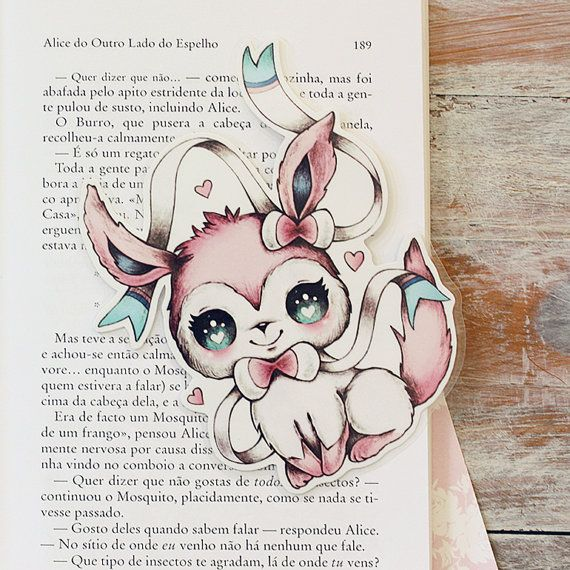 Inspired by Sylveon  limited edition bookmark by ribonitachocolat