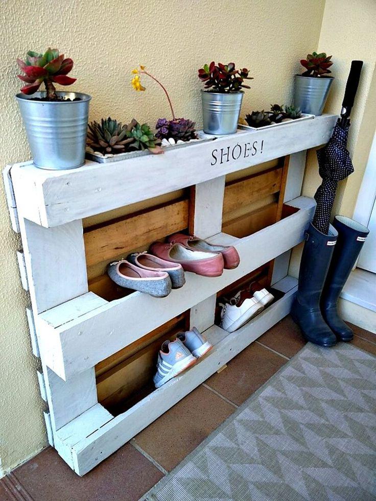 23 brilliant and creative diy shoe rack ideas on a budget on wood shoe rack diy simple id=96093