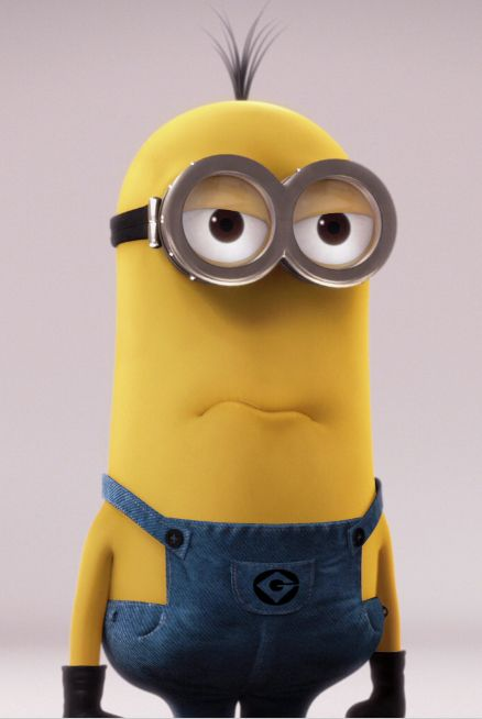 If I were a minion, I'd probably look like this guy. Remeber guys, I am not Rosemary, I'm her son.
