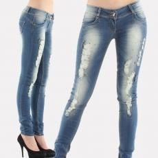 Как сделать потертые джинсы фото
