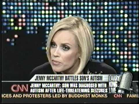 Jenny McCarthy talks to CNN on how she cured her sons Autism caused by VACCINATIONS! - YouTube