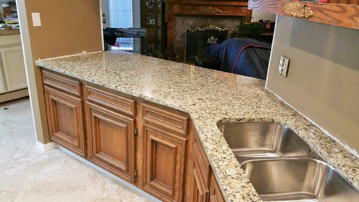 New Venetian Ice Granite Kitchen Remodel Home Decor