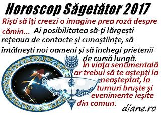 Horoscop 2017 Săgetător