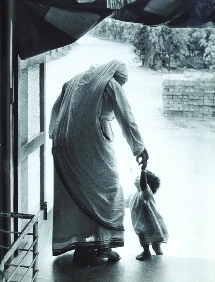 """Each one of them is Jesus in disguise."" Blessed Mother Teresa -- A great image to celebrate ""mothers"" in our congregation who have spiritual children, but not biological children."