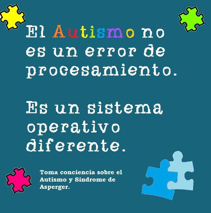El #autismo no es un error de procesamiento, es un sistema operativo diferente.