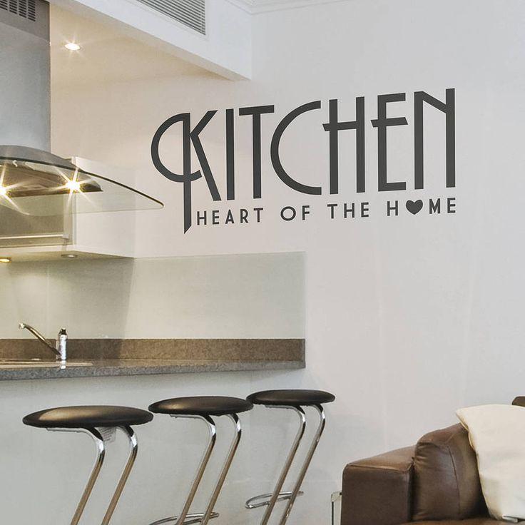 Best 25 Kitchen wall stickers ideas on Pinterest Wall stickers