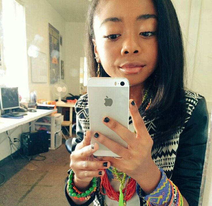 Skai Jackson from Jessie is growing up
